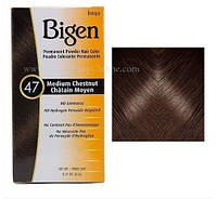 Натуральная краска для волос Bigen. Каштановый цвет № 47