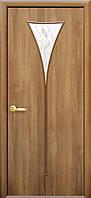 Двери Бора золотая ольха Р5