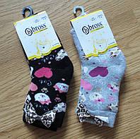 Махровые детские носки от турецкого производителя Bross (размеры 19-21)