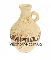 """Фигура-ваза """"Греческий бутыль"""" для улицы из глины. Высота 30 см"""
