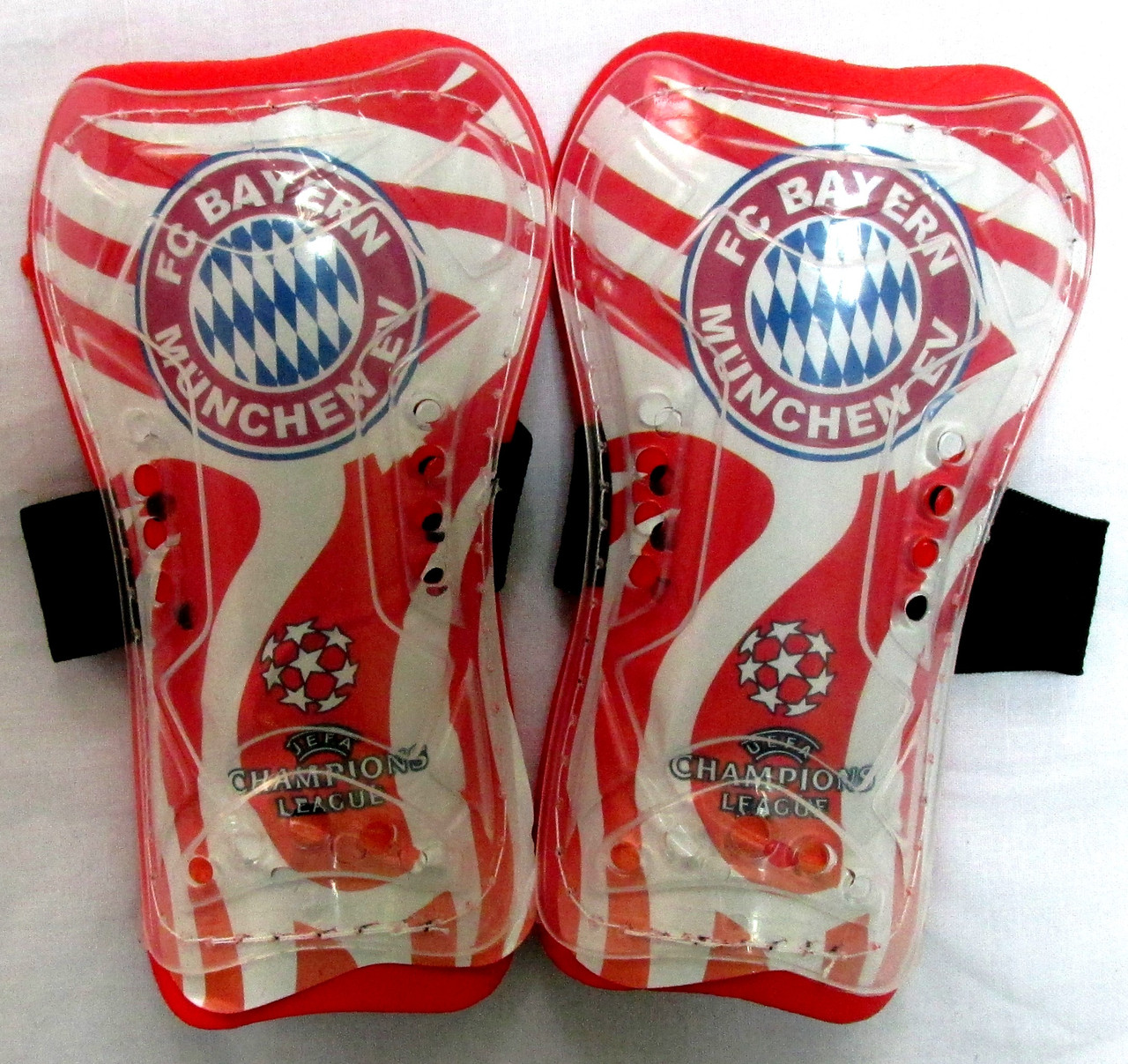 Футбольные щитки детские (мини) ФК Бавария