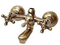 Смеситель для ванны и душа Venezia Nostalji бронза, фото 1