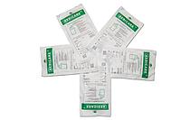 Перчатки латексные стерильные смотровые опудренные MEDICARE, размеры S,M,L, фото 1