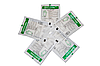 Перчатки латексные хирургические стерильные припудренные MEDICARE, размеры 6,0 - 9,0