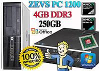 Отличный недорогой ПК ZEVS PC1200 + Программы +Клавиатура +Мышка!
