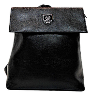 Ультра модный рюкзак из экокожи черного цвета YYK-005356, фото 1