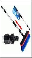 Щетка для мытья автомобилей телескопическая SB2024 (длина 95-165 см.)