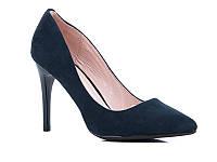 Классические женские туфли на каблуке оптом от фирмы Башили YJ75-2 (6пар 35-40)