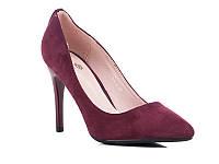 Классические женские туфли на каблуке оптом от фирмы Башили YJ75-3 (6пар 35-40)