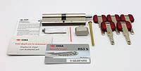 Cisa RS3 S 75мм 30х45 ключ/тумблер никель (Италия), фото 1