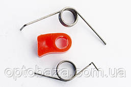 Курок газа (комплект) тип 2 для мотокос серии 40 - 51 см, куб, фото 3