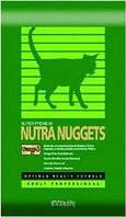 Nutra Nuggets Indoor Hairball 10кг-корм для котов выведение шерсти