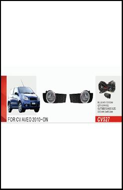 """Фары доп.модель Chevrolet Aveo Hatchback/2010-12/CV-527W/эл.проводка - Компания """"DEYAN"""" в Днепре"""