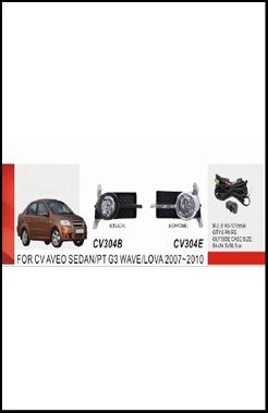 """Фары доп.модель Chevrolet Aveo Sedan II/2007-11/CV-304E-W/эл.проводка - Компания """"DEYAN"""" в Днепре"""