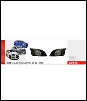 Фары доп.модель Chevrolet Aveo/2012-/CV-525W