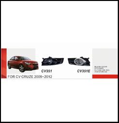 """Фары доп.модель Chevrolet Cruze 2009-/CV-351E-W - Компания """"DEYAN"""" в Днепре"""