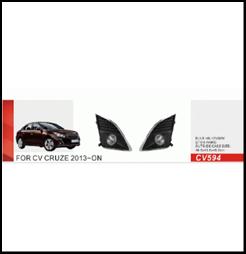 """Фары доп.модель Chevrolet Cruze 2013/CV-594-W - Компания """"DEYAN"""" в Днепре"""