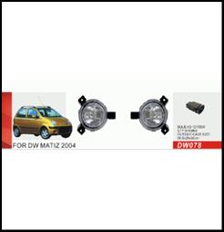 """Фары доп.модель Daewoo/Matiz/2004/DW-078W - Компания """"DEYAN"""" в Днепре"""