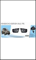 Фары доп.модель Honda Civic 4-door/2009-11/HD-348W/USA TYPE/эл.проводка