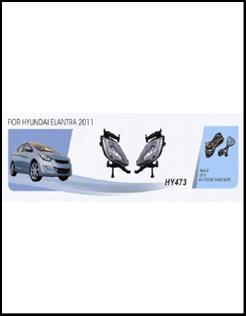 """Фары доп.модель Hyundai Elantra/2011/HY-473W/эл.проводка - Компания """"DEYAN"""" в Днепре"""