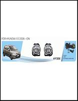 Фары доп.модель Hyundai I10/2008/HY-306W/эл.проводка