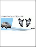 Фары доп.модель Hyundai Tucson Корея/2010-/HY-398/эл.проводка