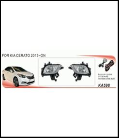 """Фары доп.модель KIA Cerato 2012-/KA-598W/эл.проводка - Компания """"DEYAN"""" в Днепре"""