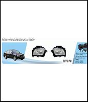 Фары доп.модель Hyundai Sonata/2009/HY-378/эл.проводка