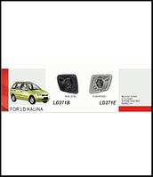 Фары доп.модель LADA/Калина1117/LD-271E-W Chrome