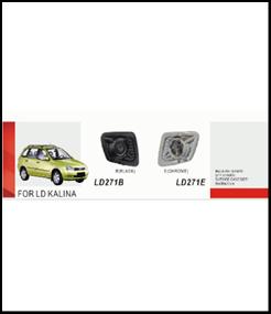 """Фары доп.модель LADA/Калина1117/LD-271E-W Chrome - Компания """"DEYAN"""" в Днепре"""