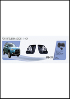 Фары доп.модель Mitsubishi  ASX 2011-/MB-433W/эл.проводка