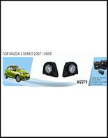 Фары доп.модель Mazda 2 Demio/2007-09/MZ-278/эл.проводка
