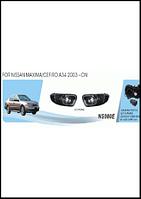 Фары доп.модель Nissan Maxima/Cefiro 2003/NS-080E/эл.проводка