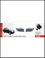 Фары доп.модель Toyota Altis-Vios 2003/TY-060/эл.проводка