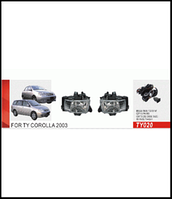 Фары доп.модель Toyota Corolla 2003/TY-020/эл.проводка