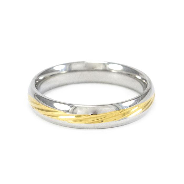 Кольцо с желтой вставкой Арт. RN029SL (16)