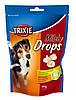 Лакомства Trixie Milk Drops для собак молочные, 350 г