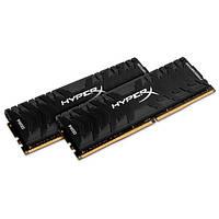Память 8Gb x 2 (16Gb Kit) DDR4, 2666 MHz, Kingston HyperX Predator Black, 13-15-15, 1.35V, с радиатором (HX426C13PB3K2/16)