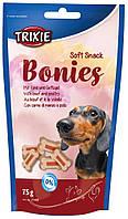Ласощі Trixie Soft Snack Bonies для собак з індичкою і яловичиною, 75 г