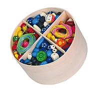 Набор для творчества Деревянные бусинки Viga toys (56002)