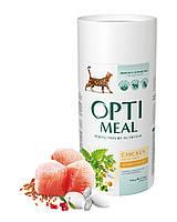 Сухой корм Optimeal для  взрослых кошек с курицей, 0,65кг