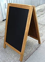 Штендер меловой двухсторонний, 100 х 60 см