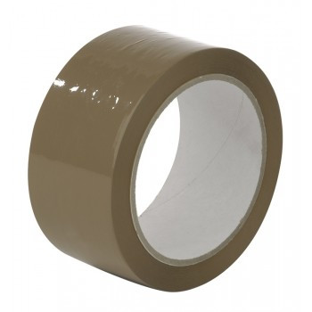 Скотч упаковочный коричневый 48х100