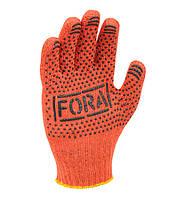 Рабочие перчатки ХБ с ПВХ 10 класс Doloni FORA 15100 (15300)