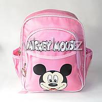 Детский рюкзак Микки Маус розовый