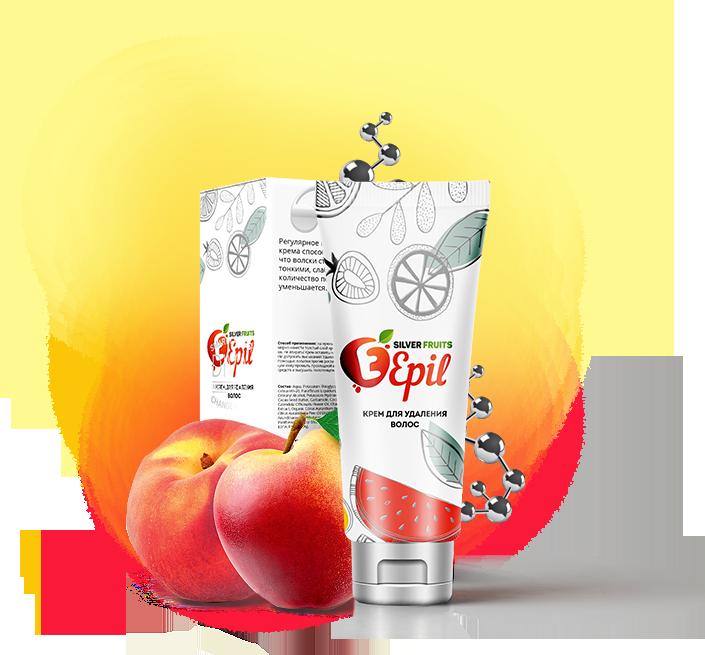 Silver Fruits Epil (Сильвер Фрут Эпил) - средство для депиляции