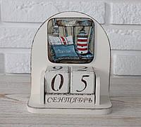 """Вечный календарь """"Морской"""". Подарки в стиле Прованс"""