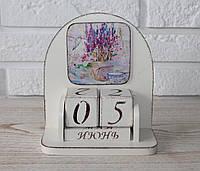 """Вечный календарь """"Лаванда"""". Подарки в стиле Прованс"""
