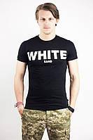 Футболка мужская White Sand черная