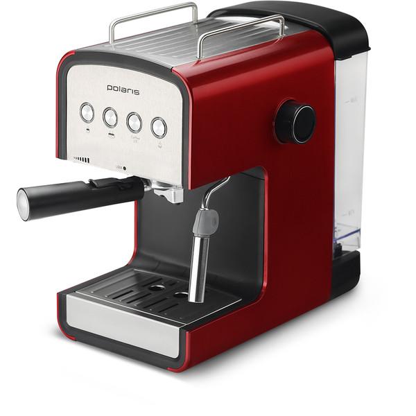 Кавоварка Polaris PCM 1516E Adore Crema Червоний (Домашня кавоварка)